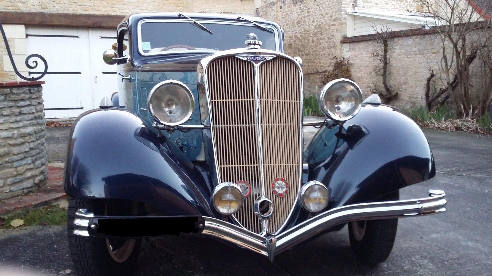 1938 SalmsonS4D faux cabriolet (coupé) version 1935 For Sale (picture 6 of 6)
