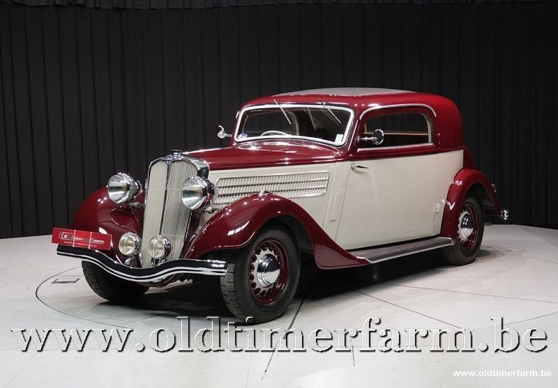 1937 Salmson S4 DA Coupé 10CV '37 For Sale (picture 1 of 6)
