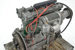 1936 SALMSON S4 COMPRESSOR ENGINE
