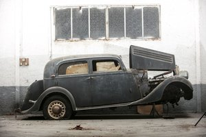 1936 Circa  Salmson S4 D Berline - No reserve