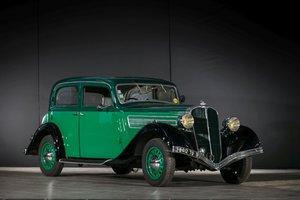 1936 Salmson S4D Berline - No reserve