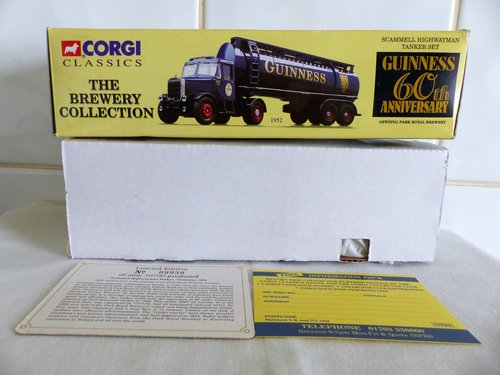 SCAMMELL HIGHWAYMAN-GUINNESS BREWERY For Sale (picture 6 of 6)