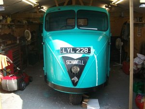 1953 Scammell Scarab, nearly ready to go! SOLD