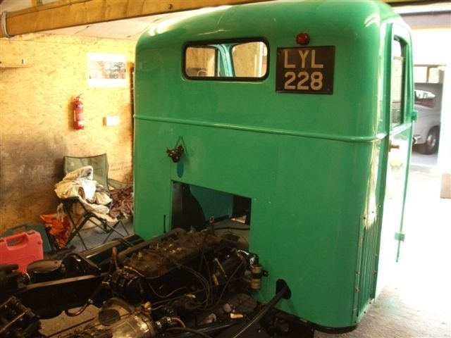 1953 Scammell Scarab, nearly ready to go! For Sale (picture 6 of 6)