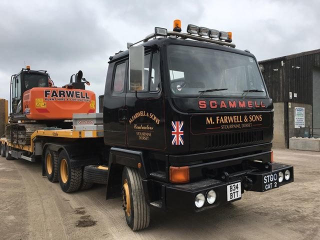 1984 Scammell S26 Tractor Unit. Rated 65 Ton For Sale (picture 2 of 6)