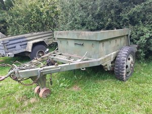 1940 American 1.5 tonne ammo trailer For Sale