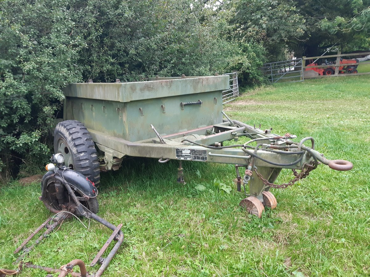 1940 American 1.5 tonne ammo trailer For Sale (picture 3 of 3)