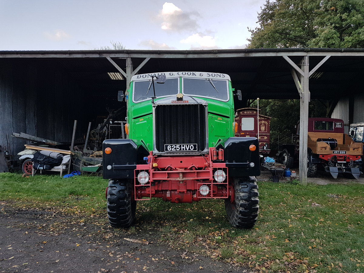 1961 Scammell Mounteneer For Sale (picture 1 of 6)