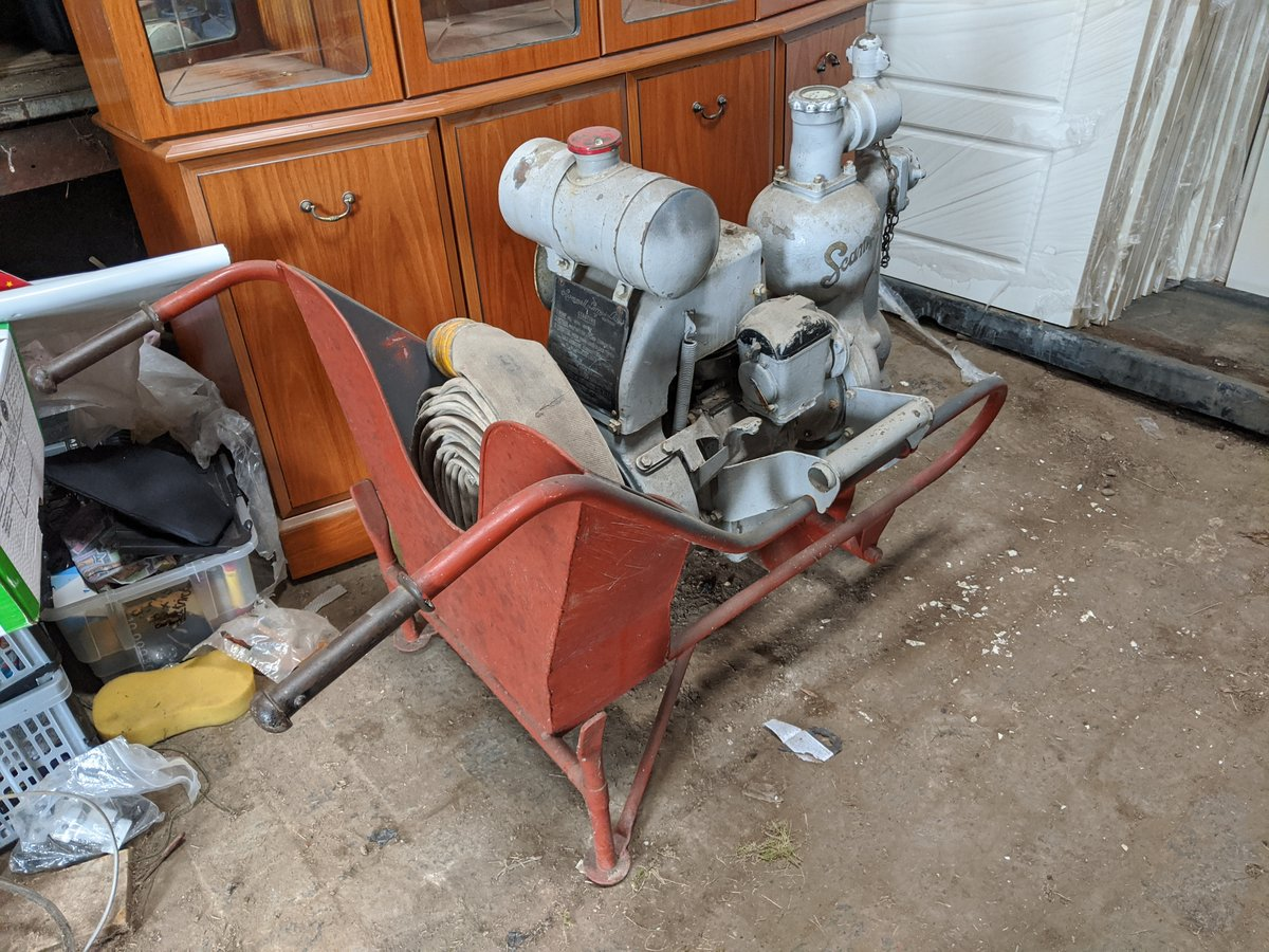 1939 Scammell wheelbarrow fire pump For Sale (picture 2 of 4)