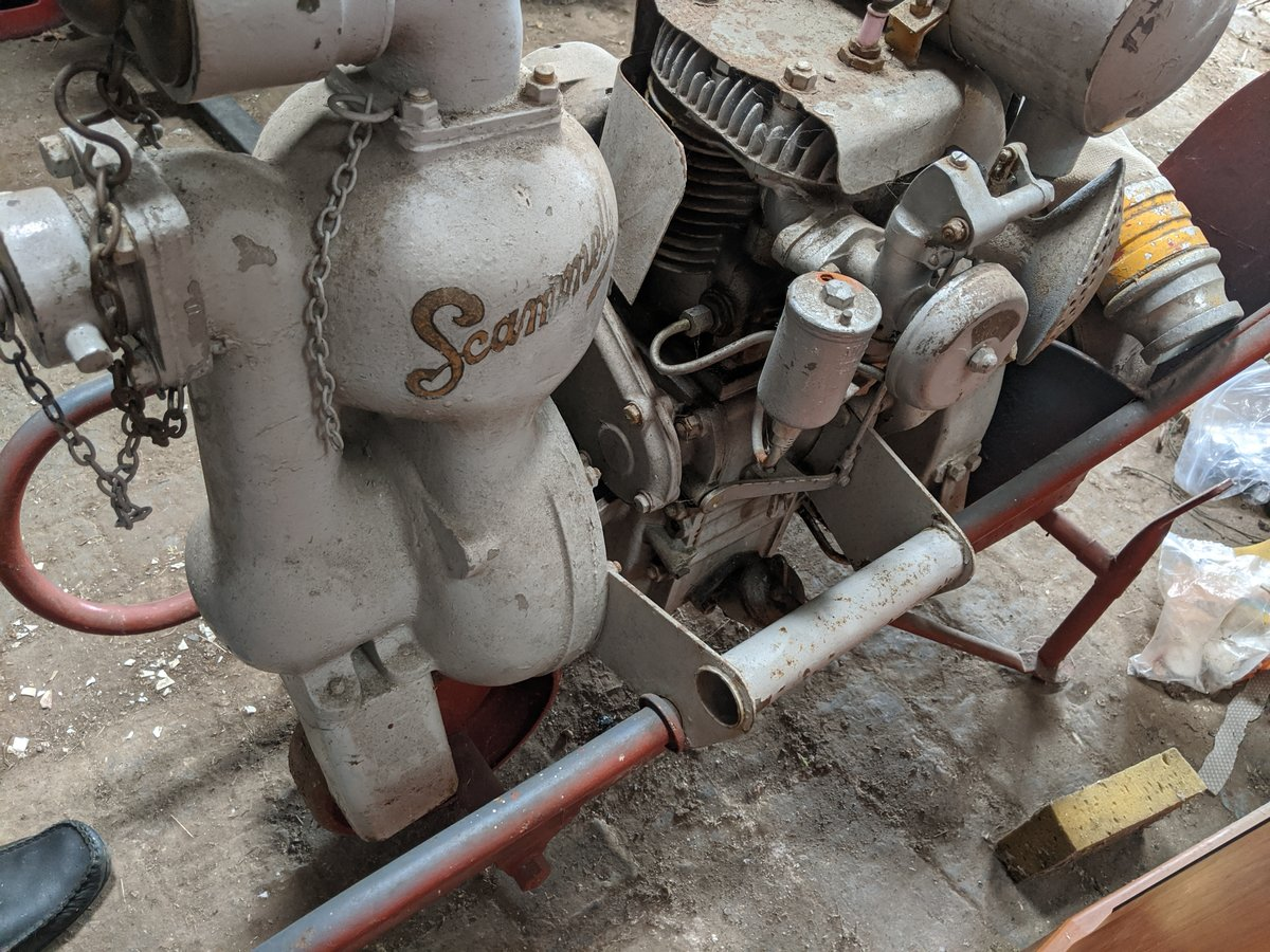 1939 Scammell wheelbarrow fire pump For Sale (picture 3 of 4)