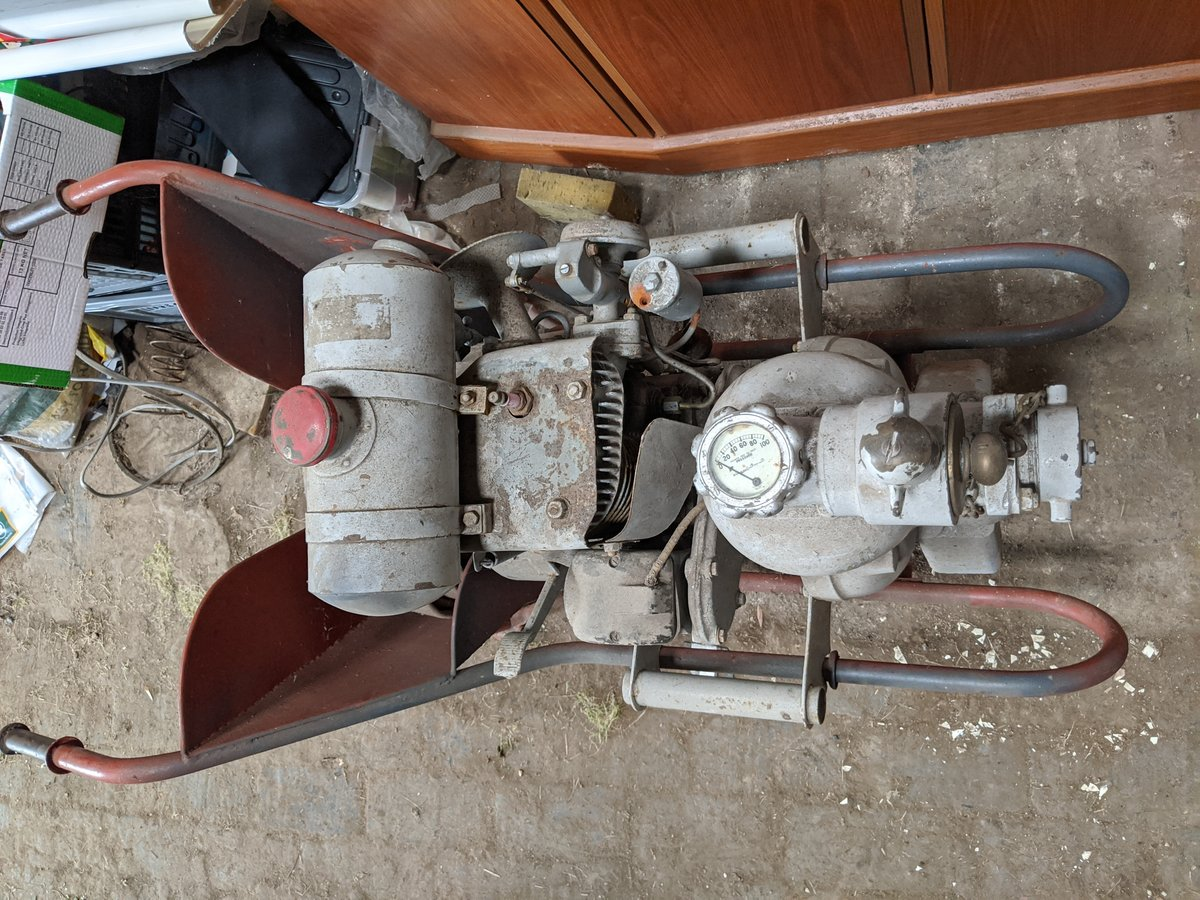 1939 Scammell wheelbarrow fire pump For Sale (picture 4 of 4)