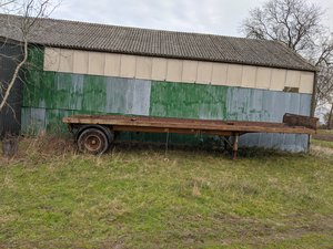 Scammell Flat bed trailer