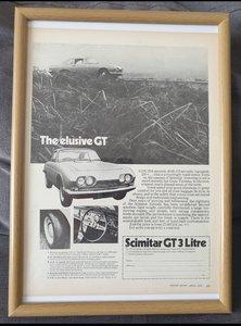 1970 Original Scimitar GT advert
