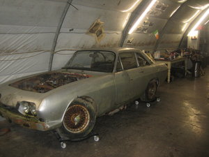 1966 reliant scimiter  project