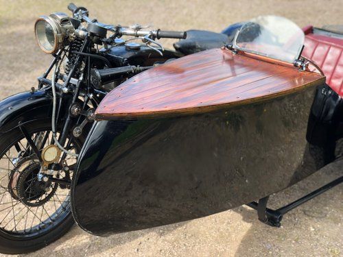 1927 Scott Squirrel 596cc Vintage Sidecar Outfit. SOLD (picture 2 of 6)