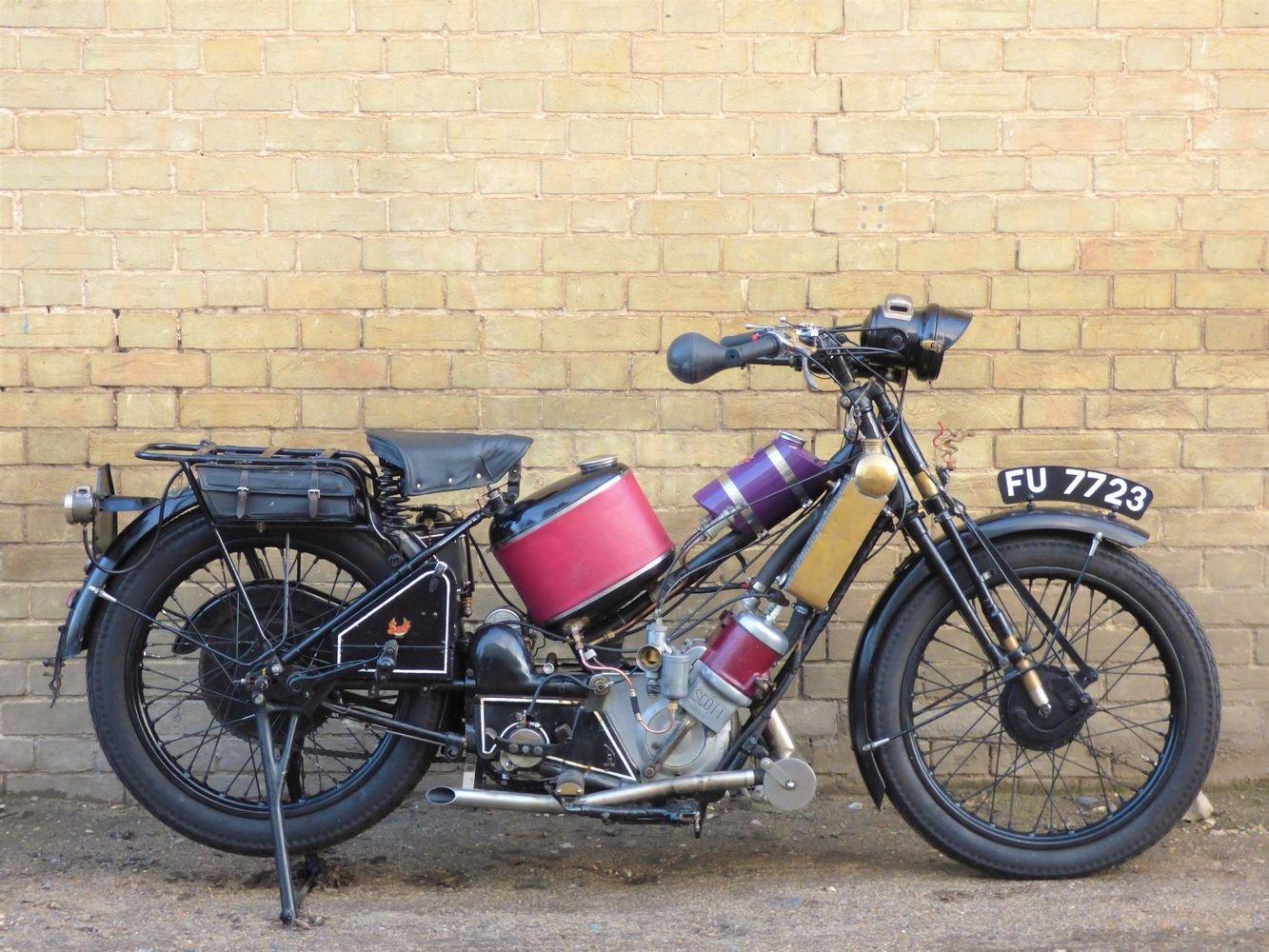 1927 Scott Squirrel 2 Speed 500cc SOLD (picture 1 of 6)