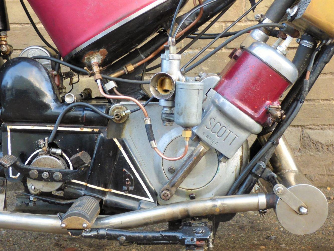 1927 Scott Squirrel 2 Speed 500cc SOLD (picture 3 of 6)