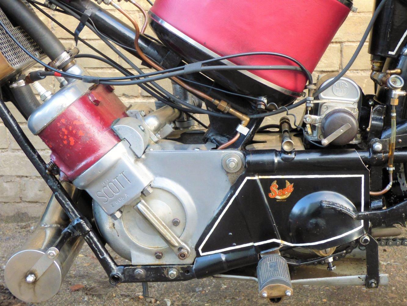 1927 Scott Squirrel 2 Speed 500cc SOLD (picture 4 of 6)