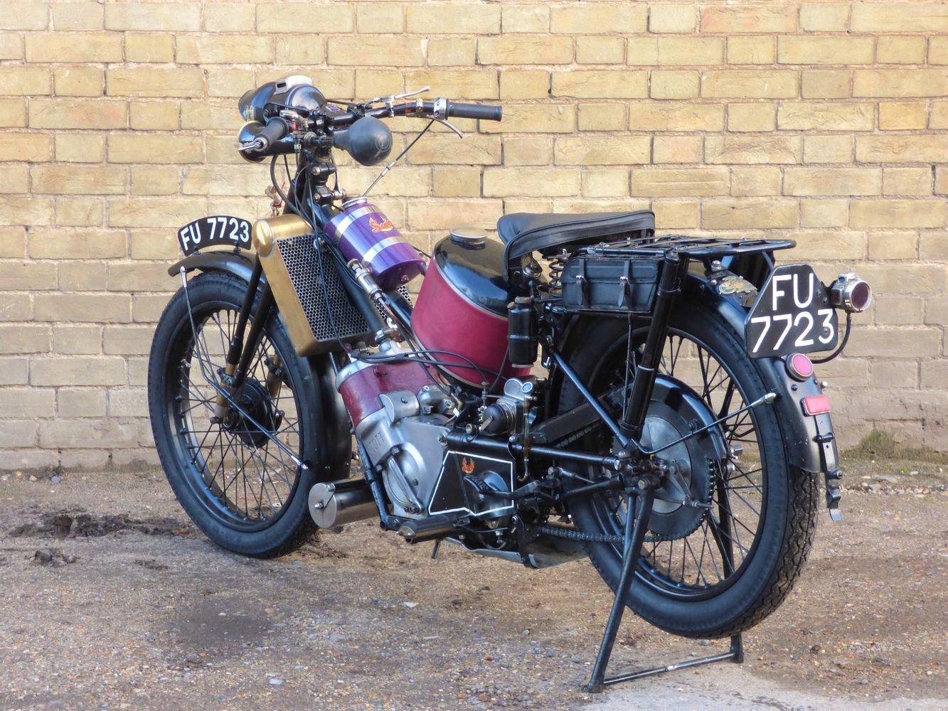 1927 Scott Squirrel 2 Speed 500cc SOLD (picture 5 of 6)