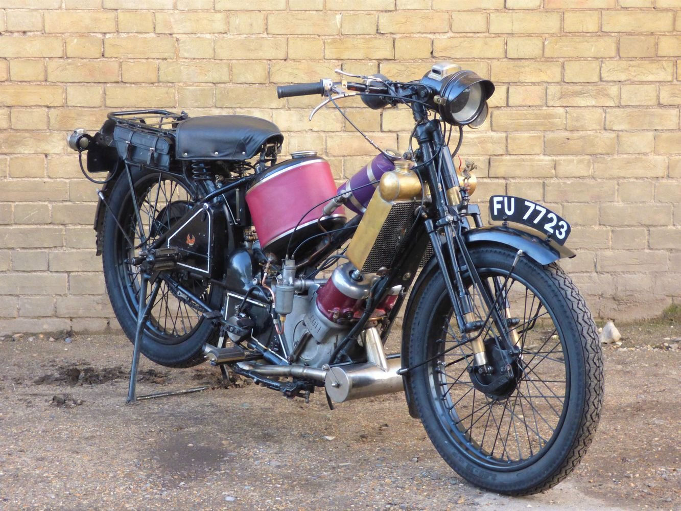 1927 Scott Squirrel 2 Speed 500cc SOLD (picture 6 of 6)