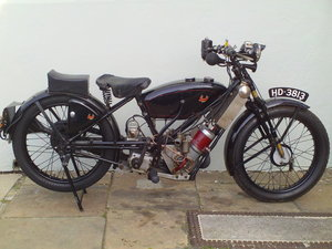 1929 SCOTT SUPER SQUIRREL SOLD