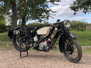 Rare 1930 Scott Flying Squirrel 500cc Sport  For Sale