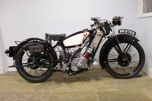 1929 Scott Flying Squirrel 500 cc Short Stroke Touring  For Sale