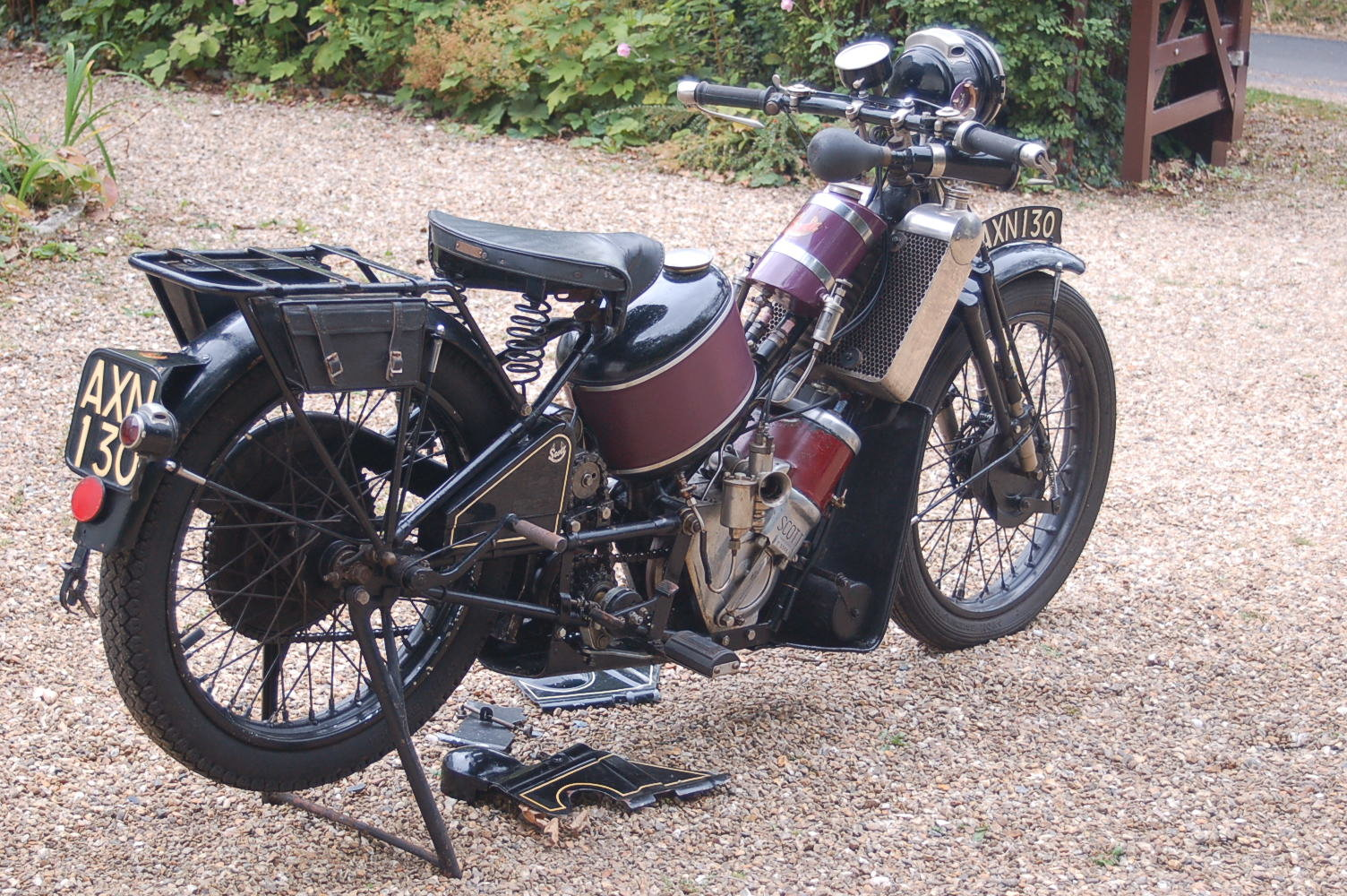 1931 Scott Two Speed Flying Squirrel For Sale (picture 2 of 6)