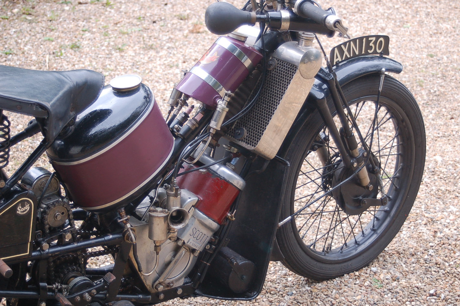 1931 Scott Two Speed Flying Squirrel For Sale (picture 4 of 6)