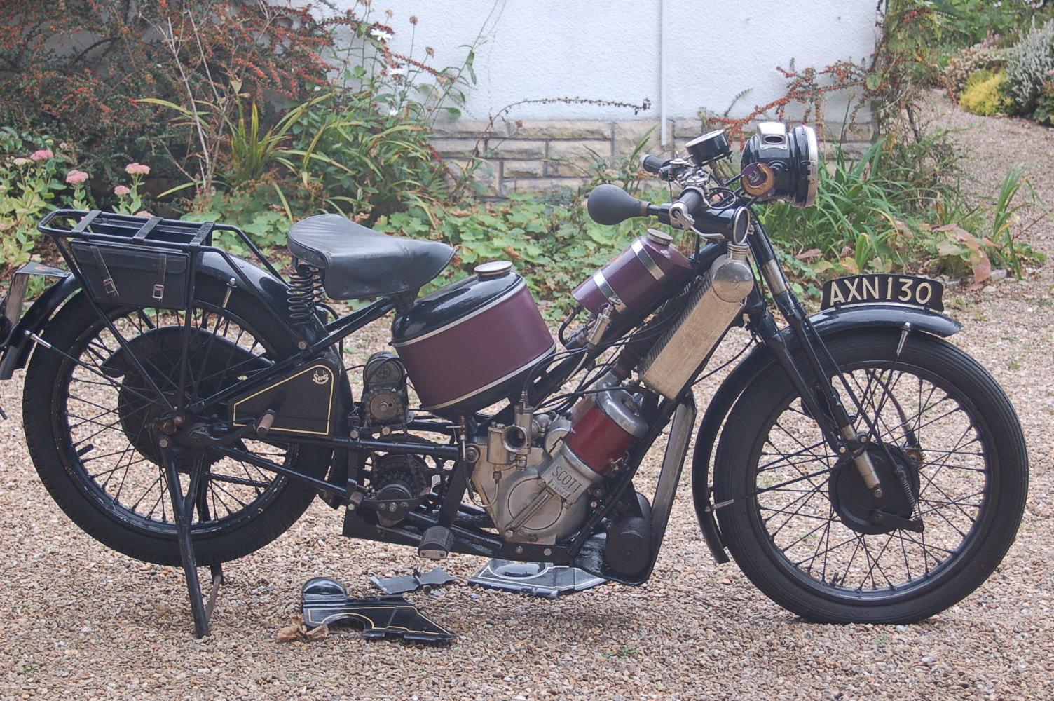 1931 Scott Two Speed Flying Squirrel For Sale (picture 5 of 6)