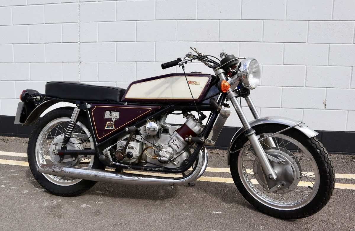 1973 Scott Silk 650cc Number 11 - Very Rare ! For Sale (picture 1 of 6)