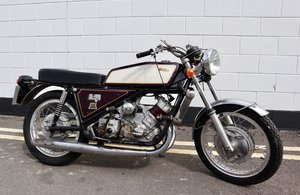 1973 Scott Silk 650cc Number 11 - Very Rare !
