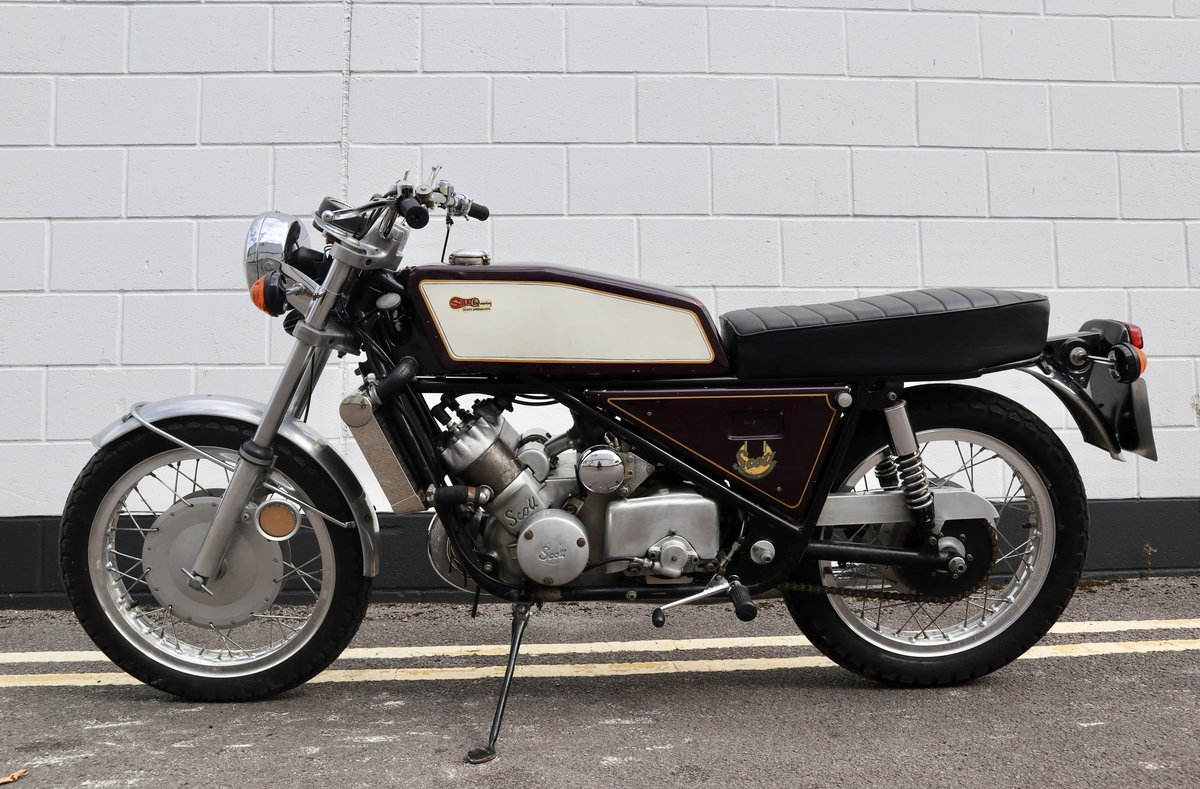 1973 Scott Silk 650cc Number 11 - Very Rare ! For Sale (picture 2 of 6)
