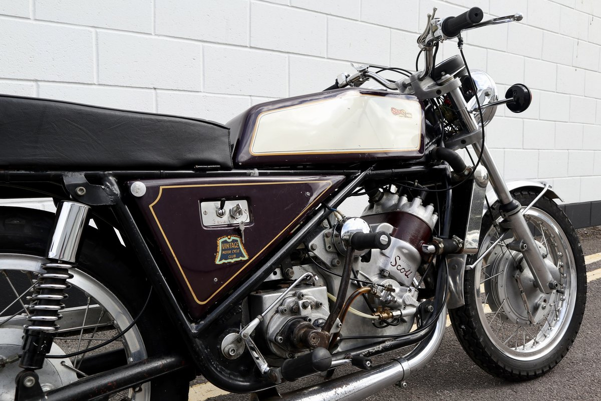 1973 Scott Silk 650cc Number 11 - Very Rare ! For Sale (picture 5 of 6)