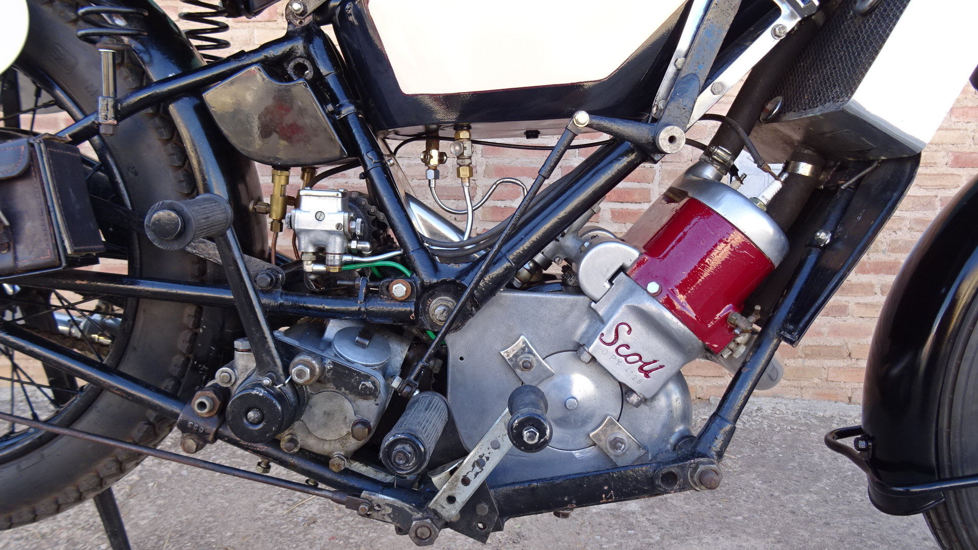 1926 Scott flying squirrel 596cc type tt racer For Sale (picture 4 of 6)