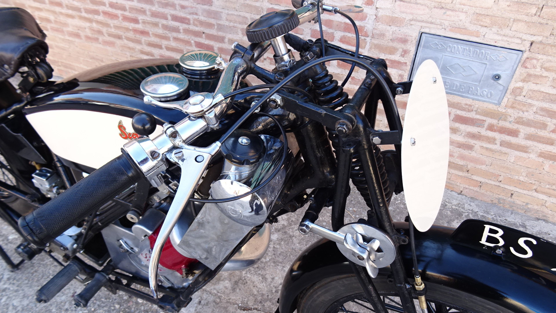 1926 Scott flying squirrel 596cc type tt racer For Sale (picture 6 of 6)