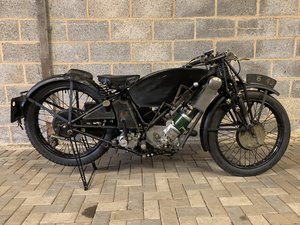 1929 Scott 596cc Works Isle of Man Senior TT Race Bike