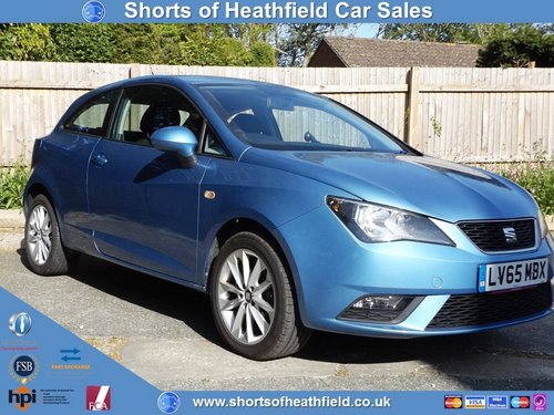 2015 Seat Ibiza 1.4 16v Toca - 3 Dr Sport Coupe - Sat Nav/Media SOLD (picture 1 of 1)