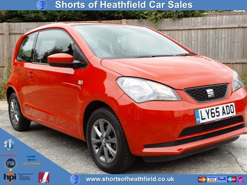 2016 Seat Mii 1.0 I-TECH - Sat Nav - 3 Dr HB - One Owner  For Sale (picture 1 of 1)
