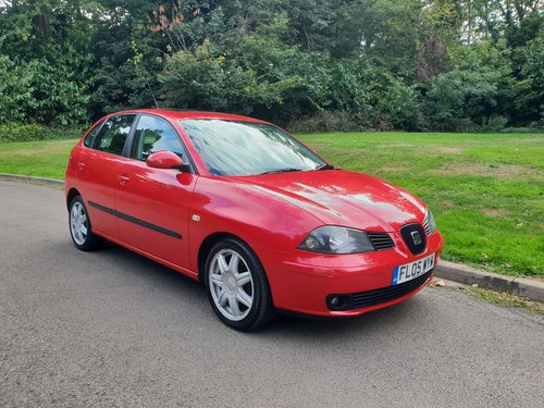 2005 Seat Ibiza 1.4 Sport 16v. Low Miles. 1 Family Owned. Bargain SOLD (picture 1 of 6)