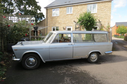 1969 Very very rare Seat 1500 hearse For Sale (picture 1 of 4)