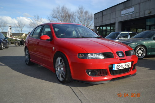2005 Seat Leon Type R 225 BHP For Sale (picture 1 of 6)