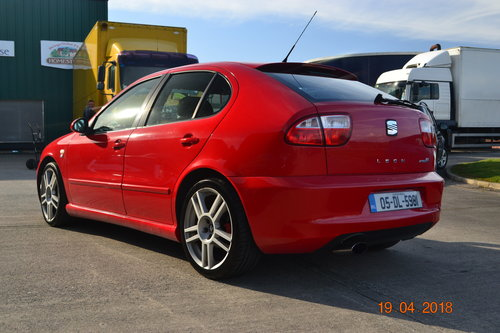 2005 Seat Leon Type R 225 BHP For Sale (picture 2 of 6)
