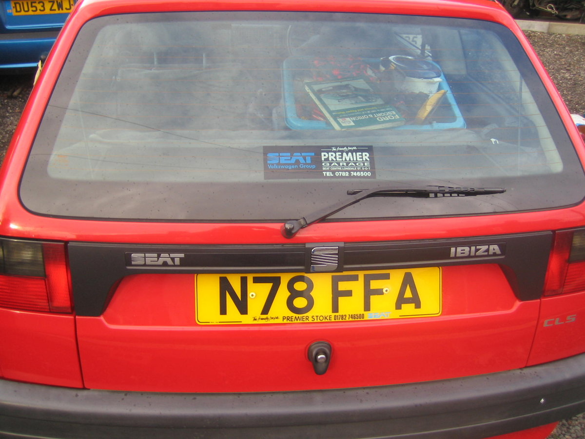 1996 Seat Ibiza SOLD (picture 2 of 6)