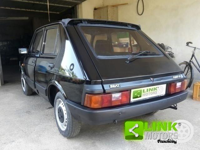 1984 Seat Fura Porte GL Econotronic EPOCA For Sale (picture 5 of 6)