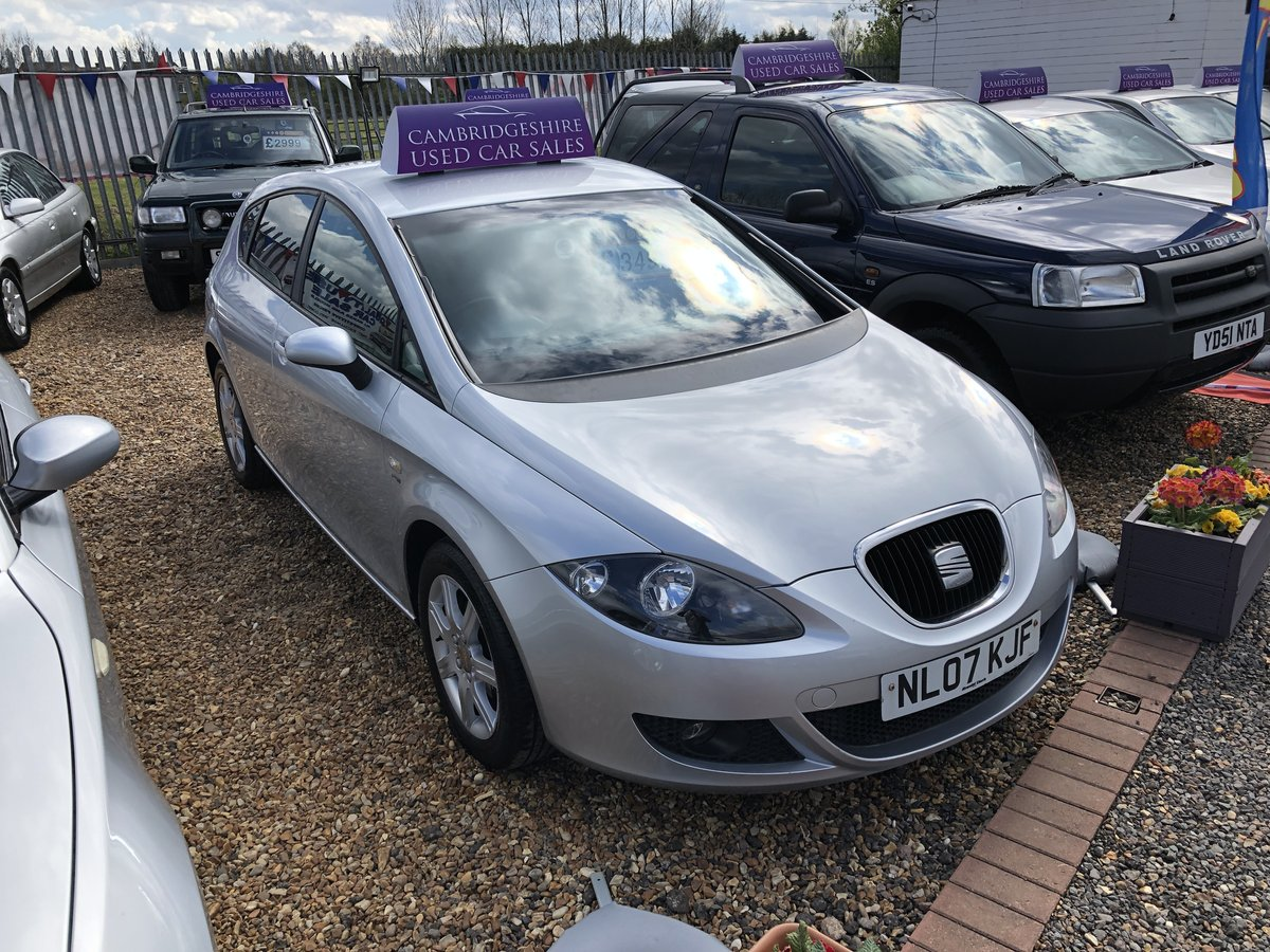 2007 SEAT Leon 2.0 FSI Stylance 5dr For Sale (picture 1 of 6)