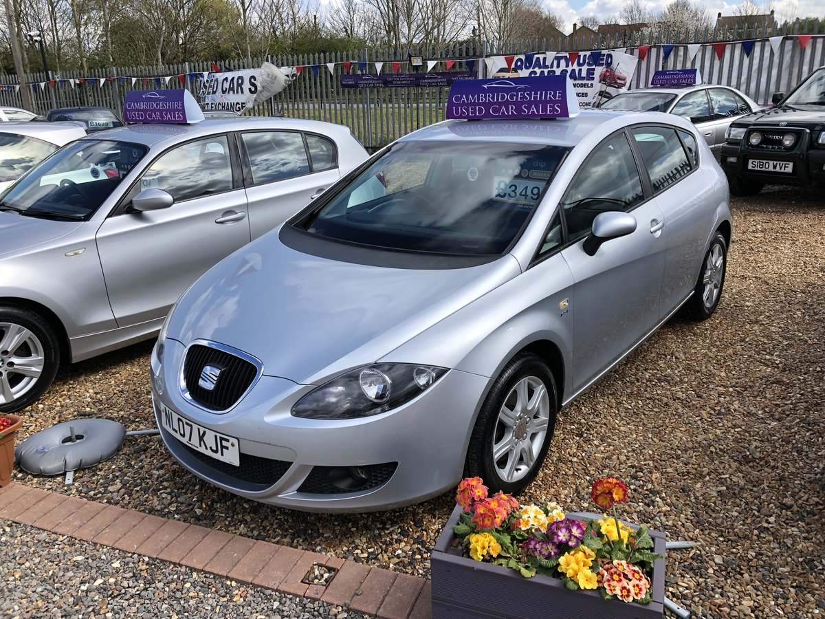 2007 SEAT Leon 2.0 FSI Stylance 5dr For Sale (picture 2 of 6)