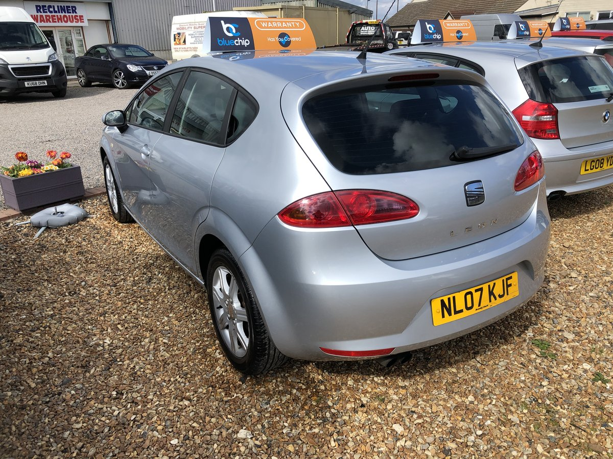 2007 SEAT Leon 2.0 FSI Stylance 5dr For Sale (picture 3 of 6)