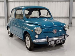 1970 Seat 600 E For Sale by Auction