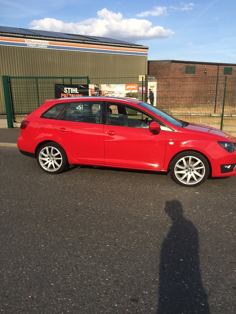 2014 Seat Ibiza FR 1600 TDI sports Tourer For Sale (picture 1 of 6)